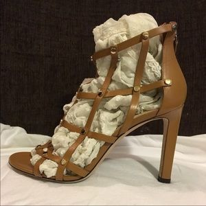 Jimmy Choo caged gladiator heel 9.5 can fit 8.5